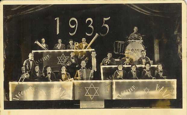 Joodse Jazzband Legoelom 1935