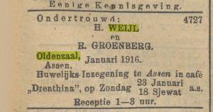 NIW 7 januari 1916
