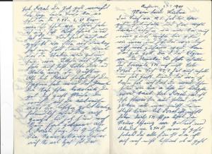 Brief van Josef Rosenbaum op 23 februari 1940