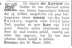 18690330 Enschedese Courant